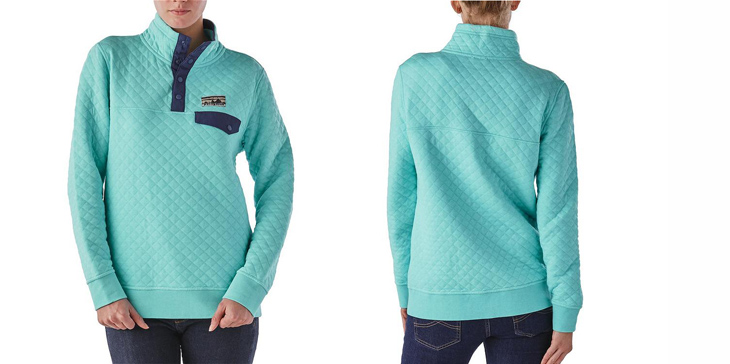 Patagonia Women S Cotton Quilt Snap T Pullover Mountain Life