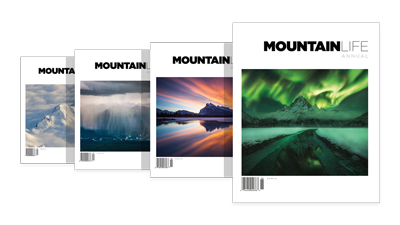 Exclusive, limited time early bird 25% discount on Mountain Life Annual outdoor magazine