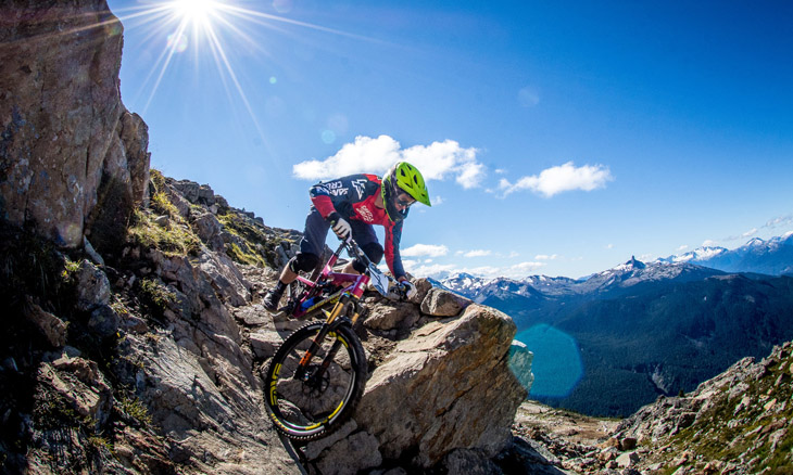 Chris Johnstone. Whistler Fall Classic, part of the North American Enduro Tour. Whistler, B.C. Photo: Scott Robarts