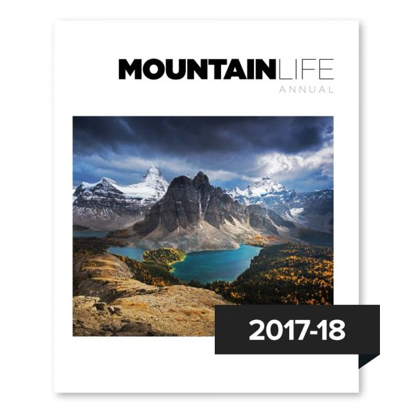 ML Annual Issue 01 now available to purchase on Mountain Life's website.