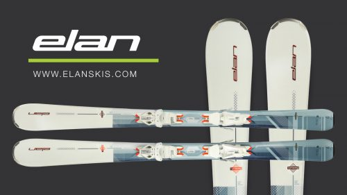 win a pair of elan delight prime women's skis with mountain life and elan skis