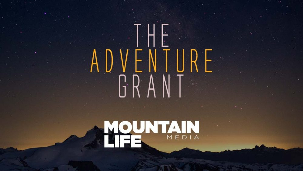 mountain life media adventure grant