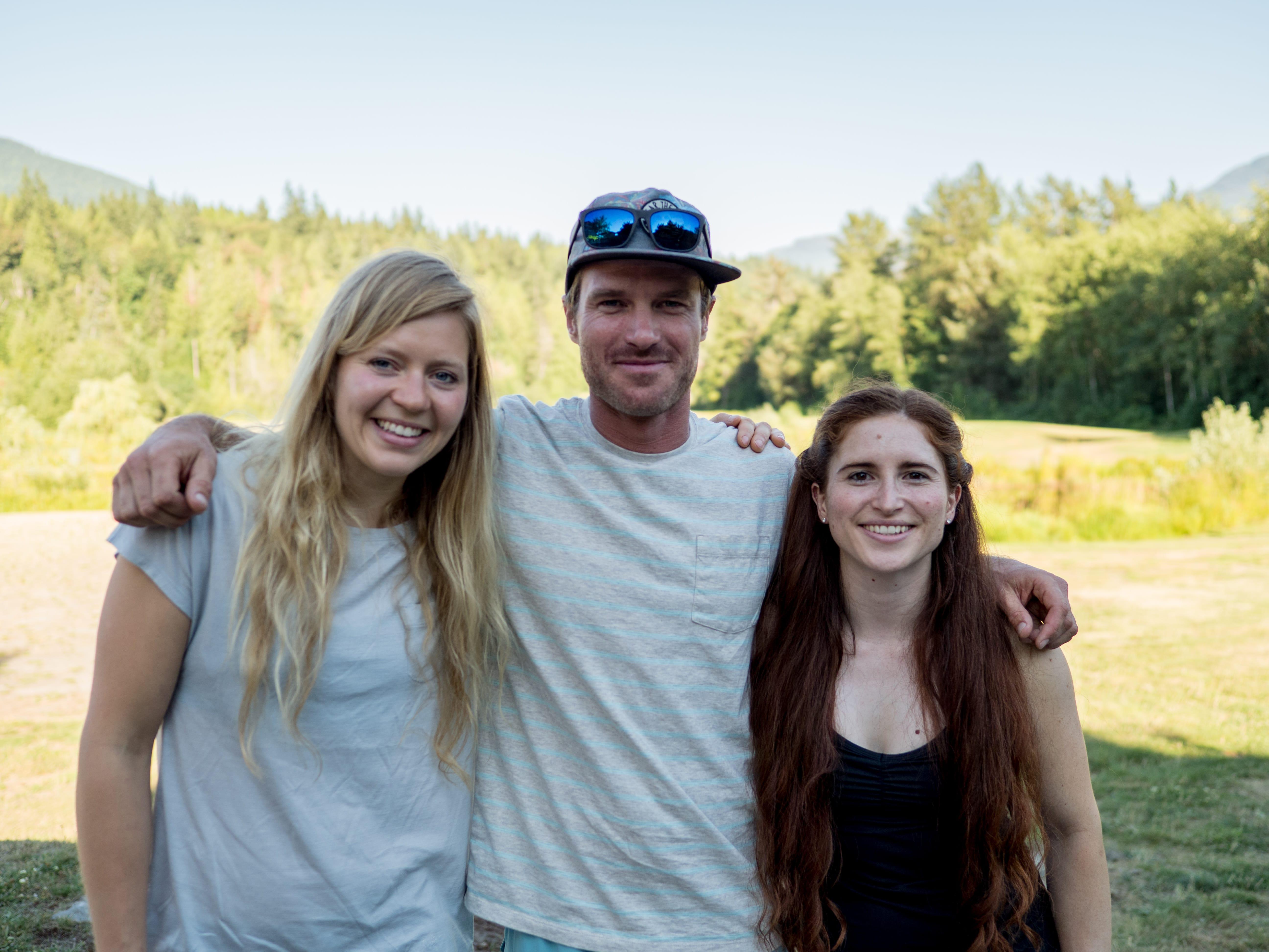 Mina Leslie-Wujastyk, Drew Smith, Caitlin McNulty