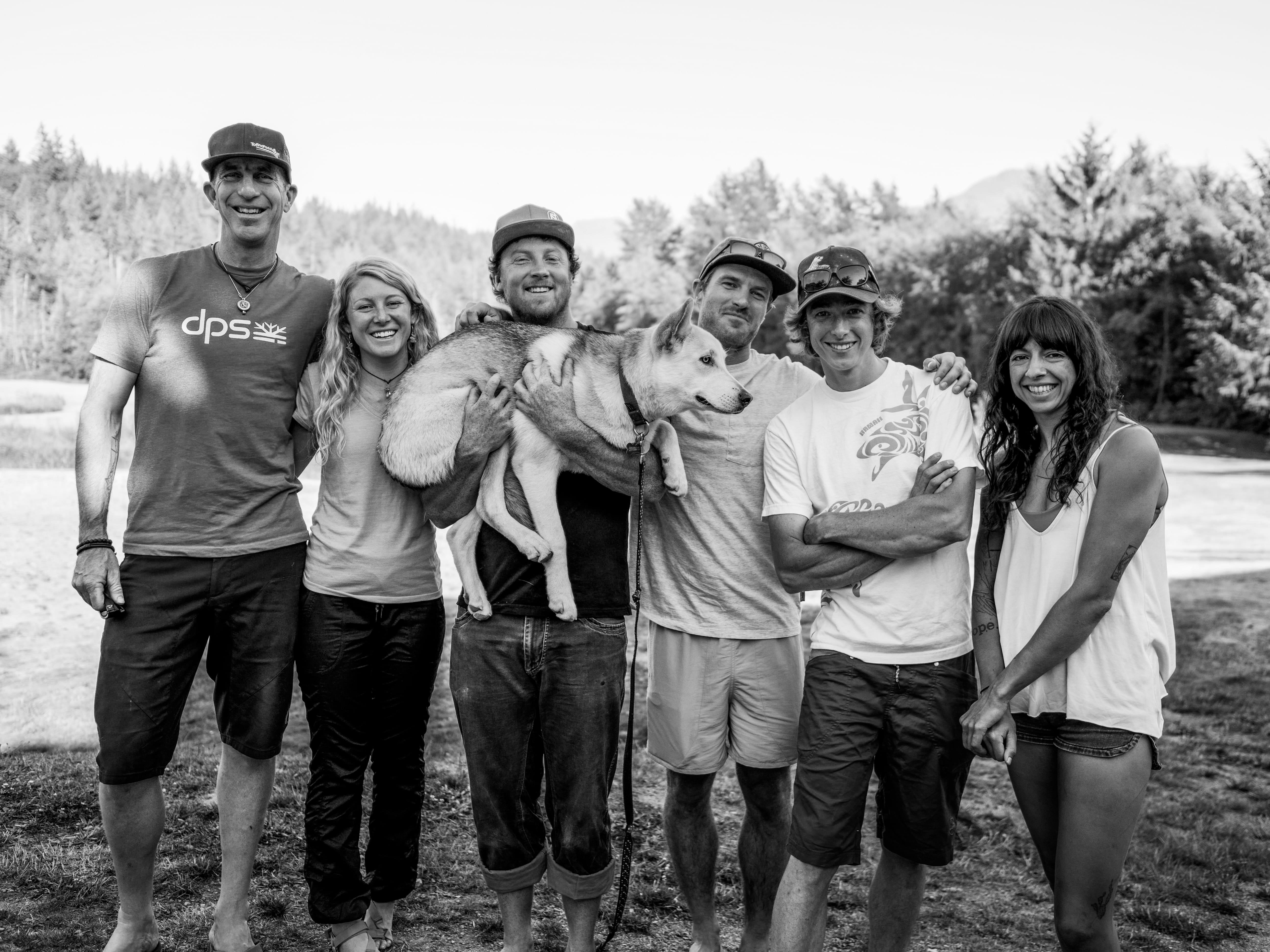 left to right: Chris Christie, Savannah Cummins, John Price, Lakea, Drew Smith, Thomas Burden, Tara Kerzhner