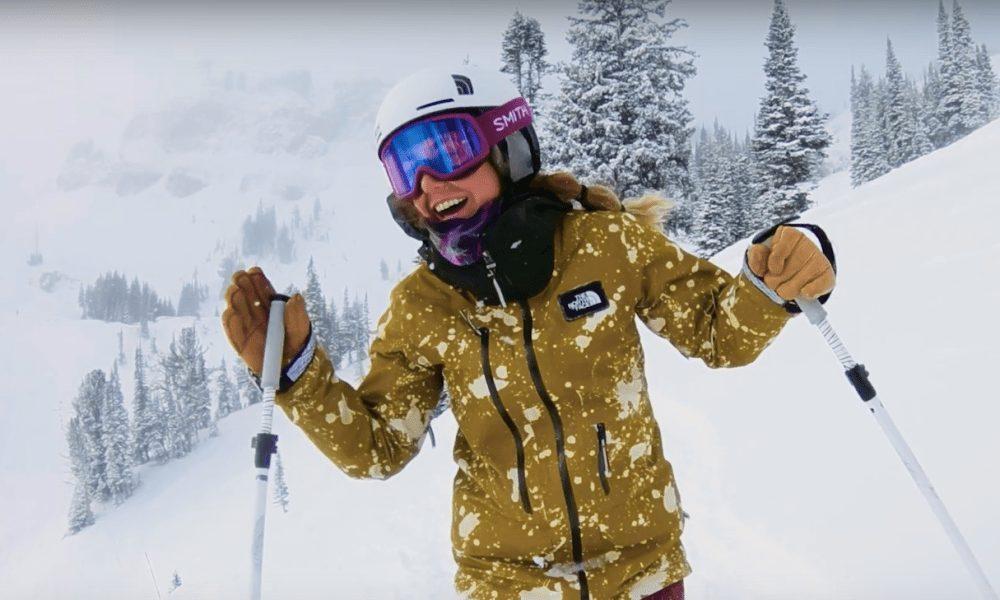 Hadley Hammer in skiing in Jackson Hole