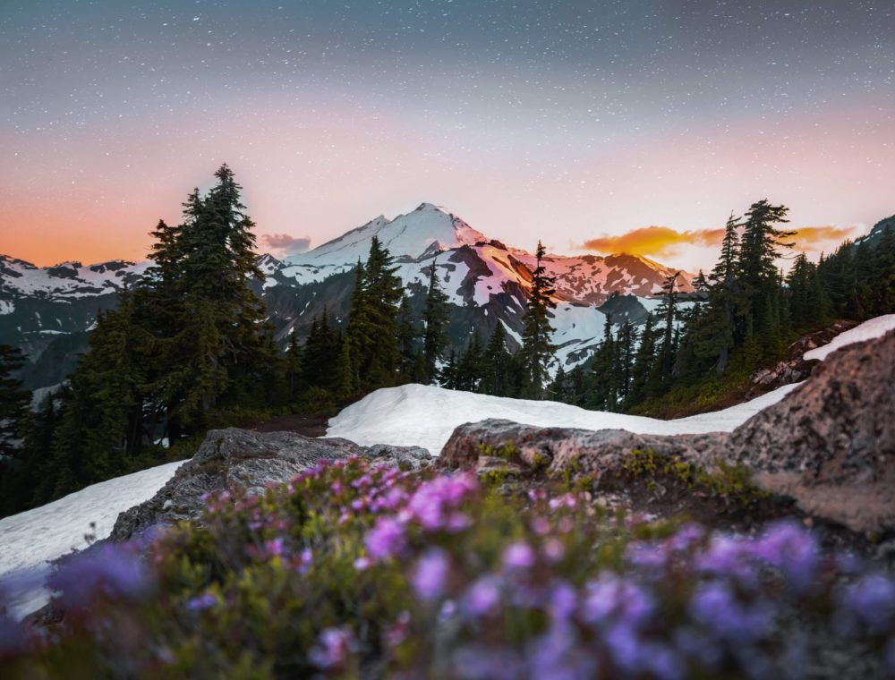 Mount Baker National Volcano