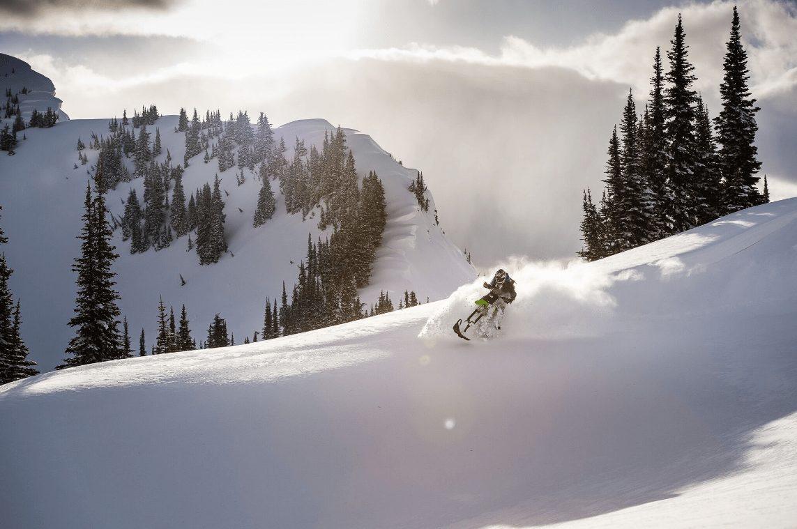 Jeremy Hanke riding in pow