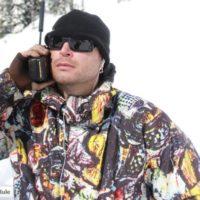 Jeremy Hanke on Sat Phone