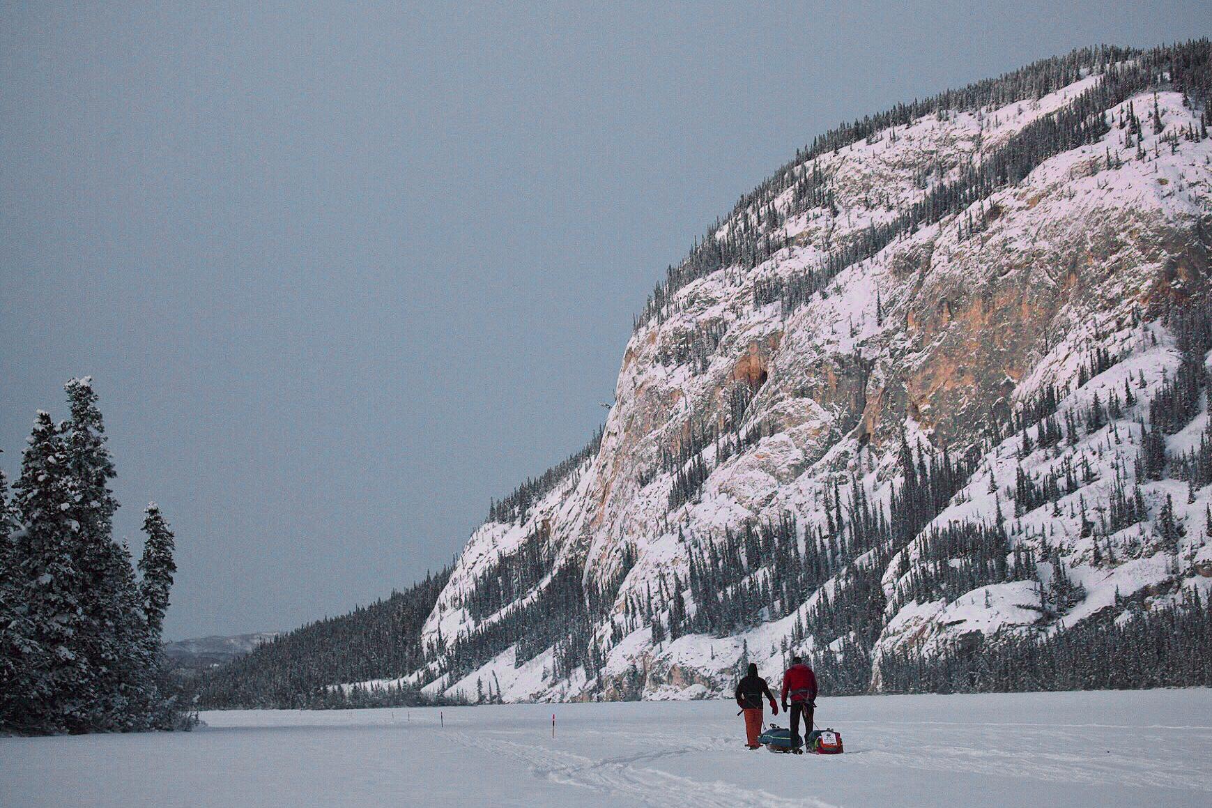 Montane Yukon Arctic Ultra runners