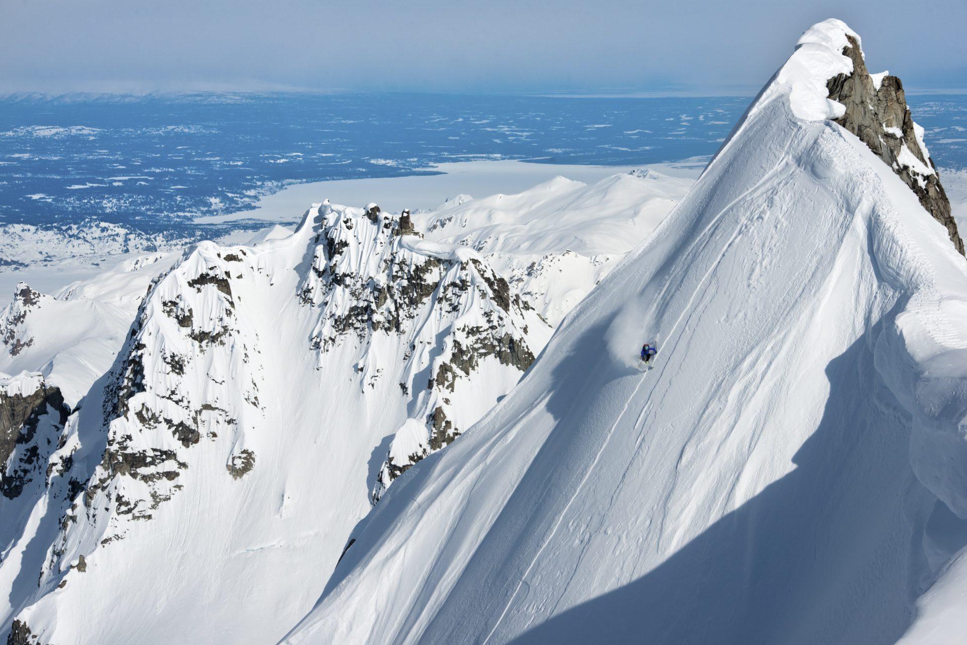 Holly Walker Skiing
