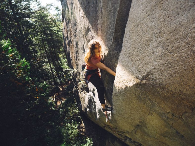 Heather Lightfoot Climbing