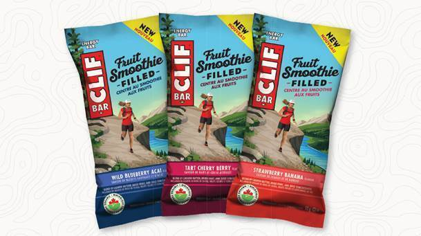 CLIF Bar fruit Smoothie Filled