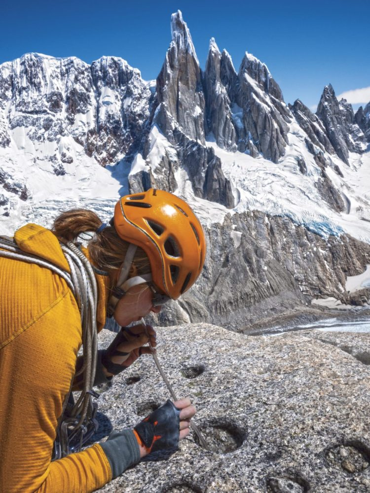 Patagonia R1 in the Fitz Roy Range