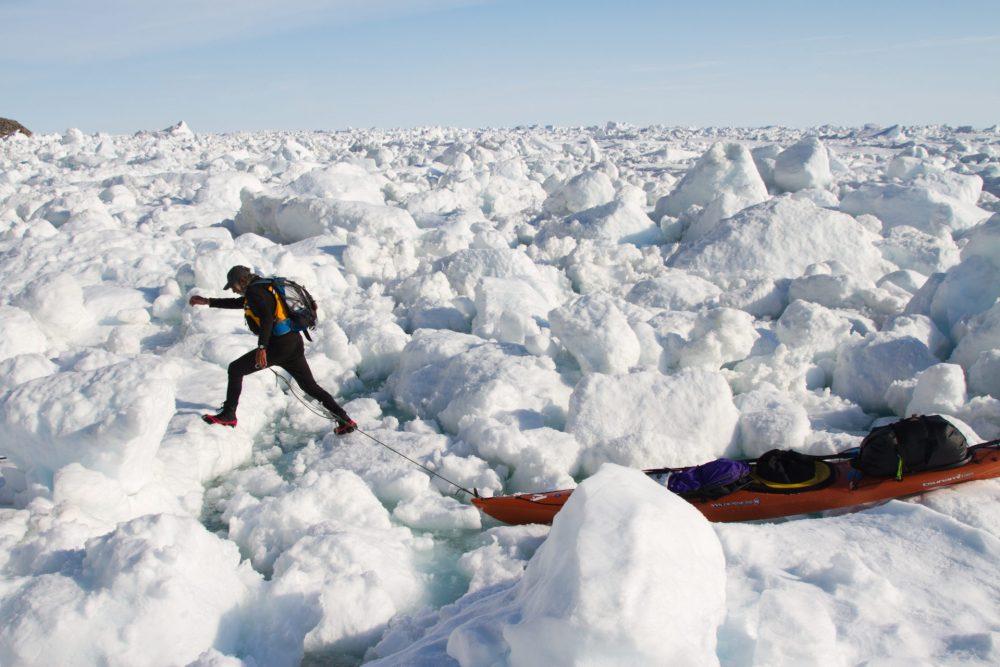 Jon Turk Circling Ellesmere Island