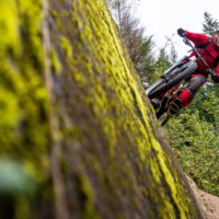 Brett Tippie biking in Squamish, British Columbia