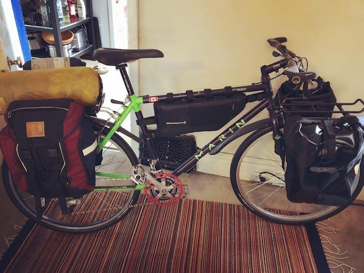 Marin Mountain Bike Touring Bike