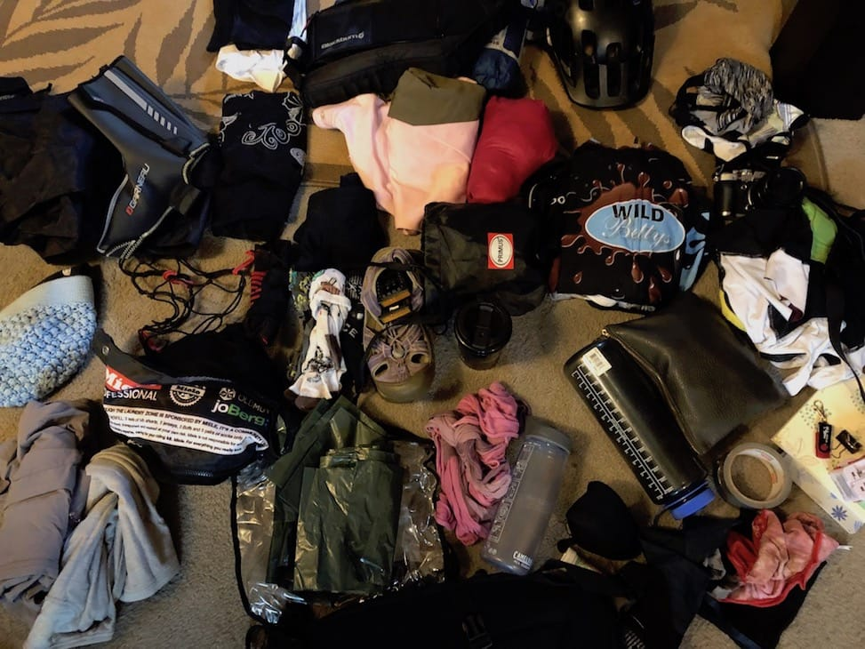 Packing for bikepacking