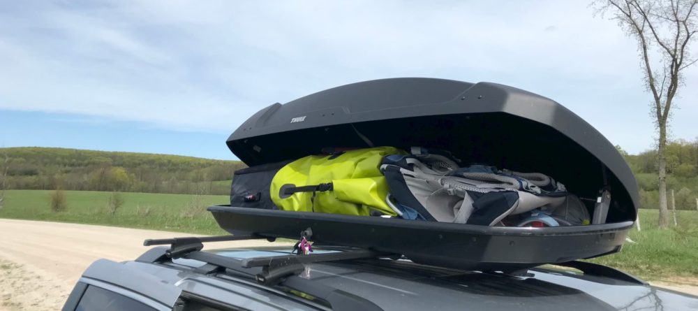 Thule Force XT XL Rooftop Cargo Carrier reviewed by Mountain Life Media