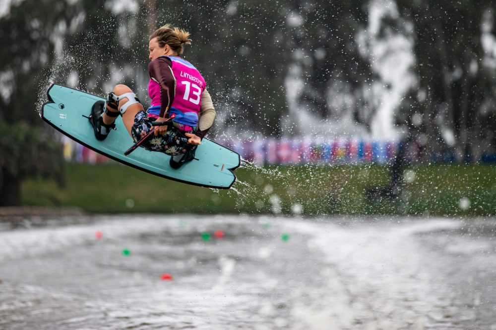 Erika Langman at the Pan Am Games, Wakeboarding, by Mountain Life Media