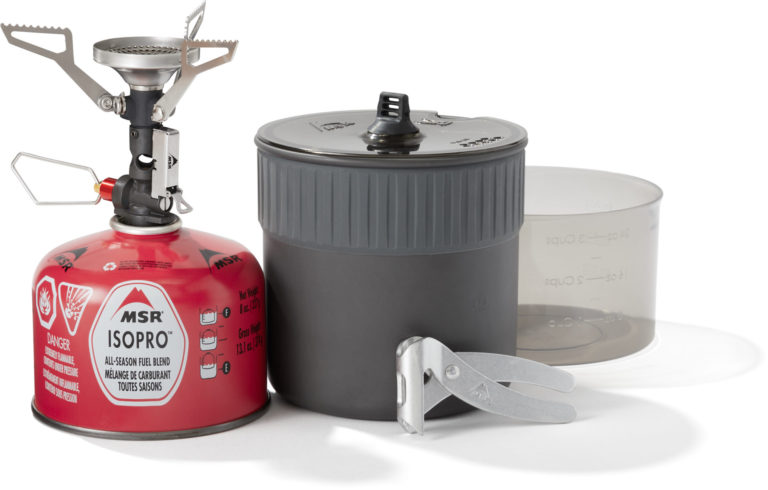 MSR PocketRocket stove reviewed by Mountain LIfe Media