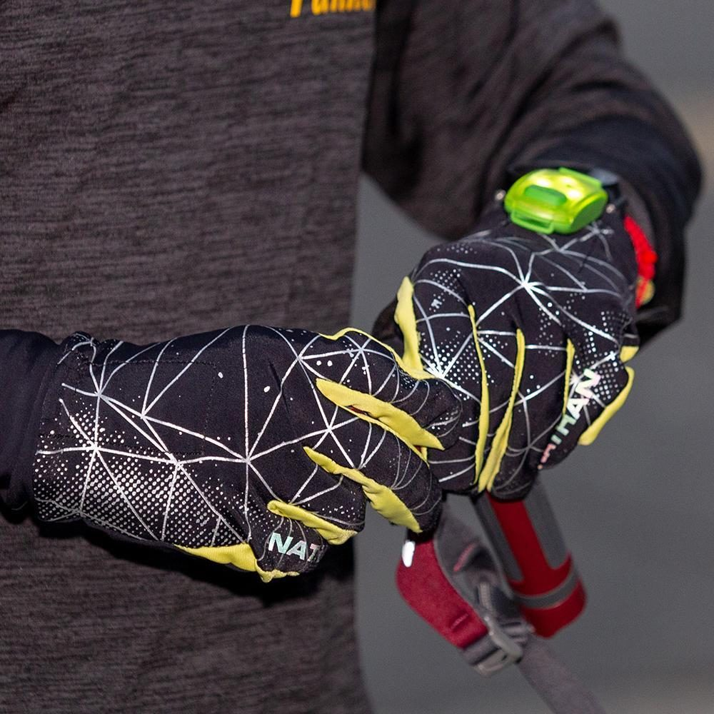 Nathan running gloves reviewed by Mountain Life Media