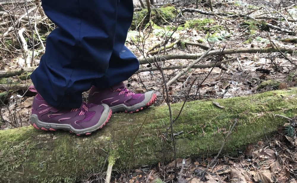 Merrell Chameleon kids hiking boot by Mountain Life