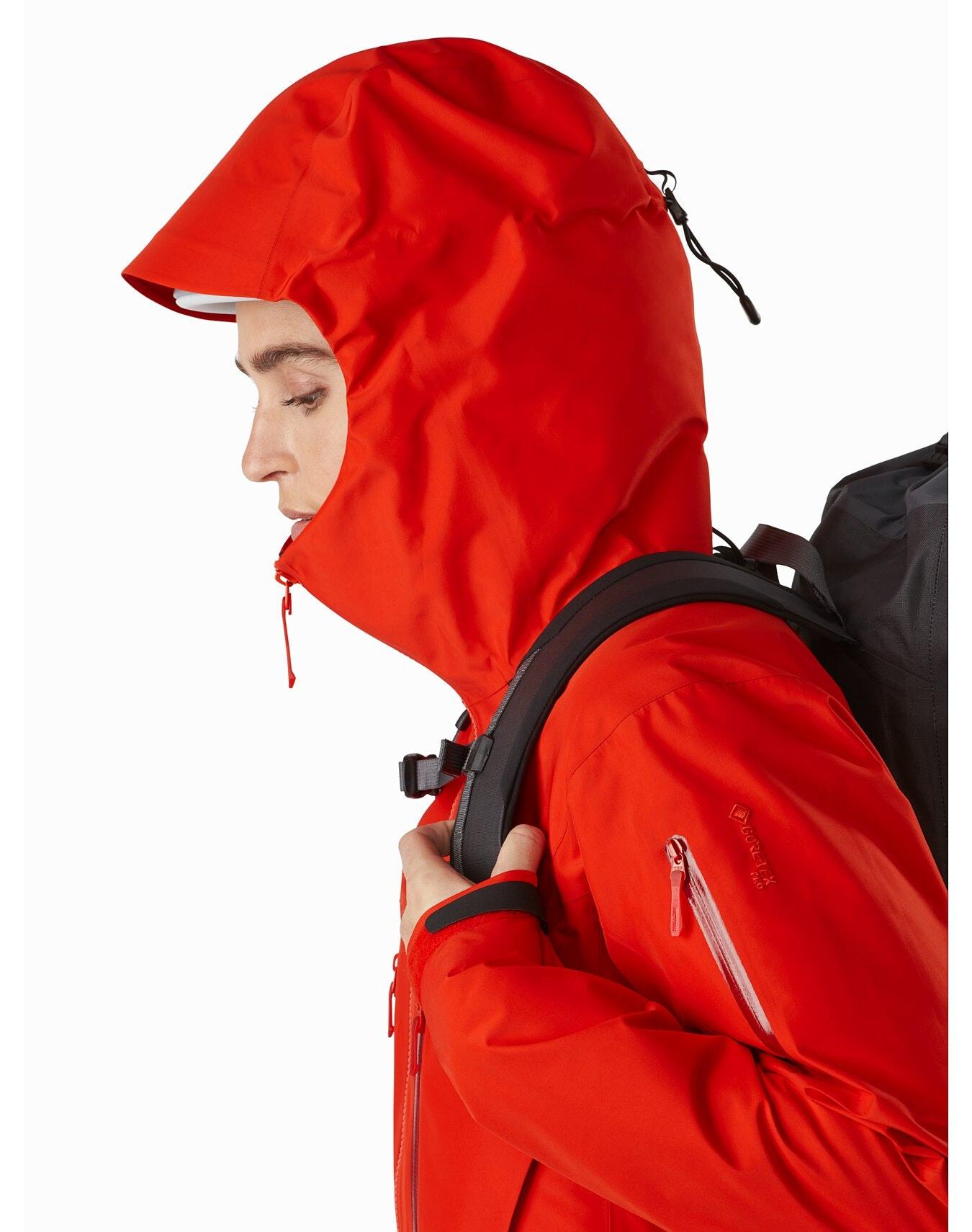 Arc'teryx Alpha SV jacket winter hood