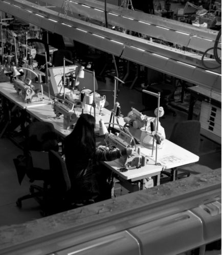 ARC'One, the Canadian manufacturing facility of Arc'teryx