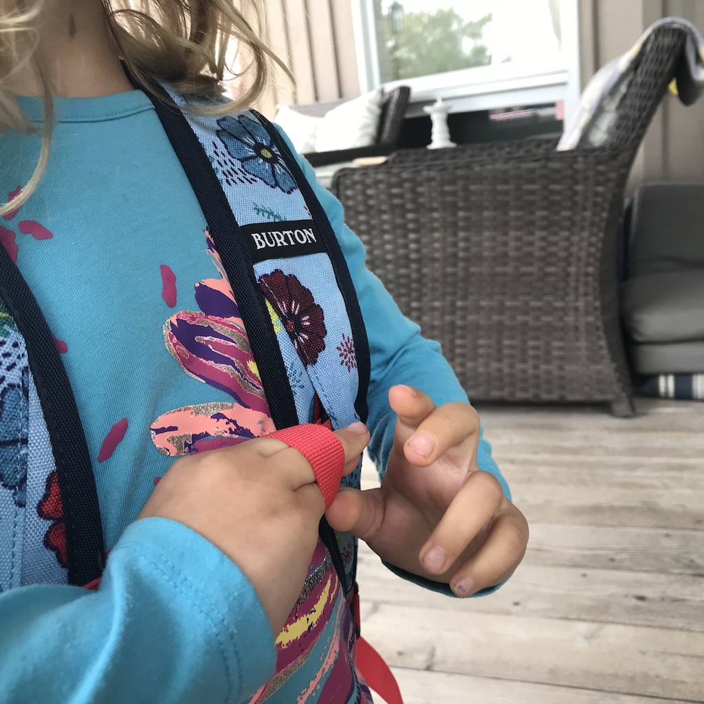 Kids-Backpack-with-Grown-Up-Features-Burton-kid-wearing