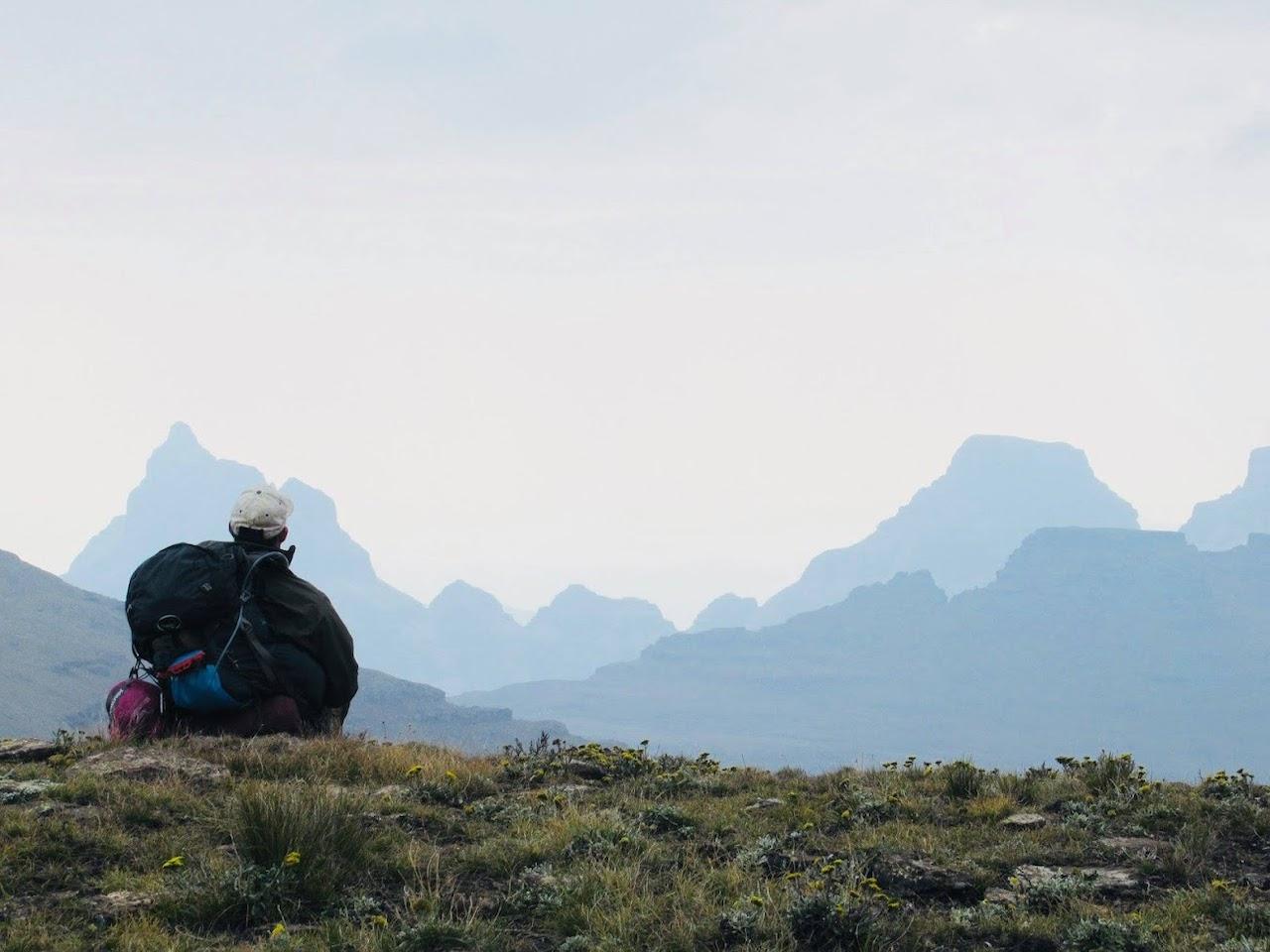 Lesotho Africa Drakensberg Traverse