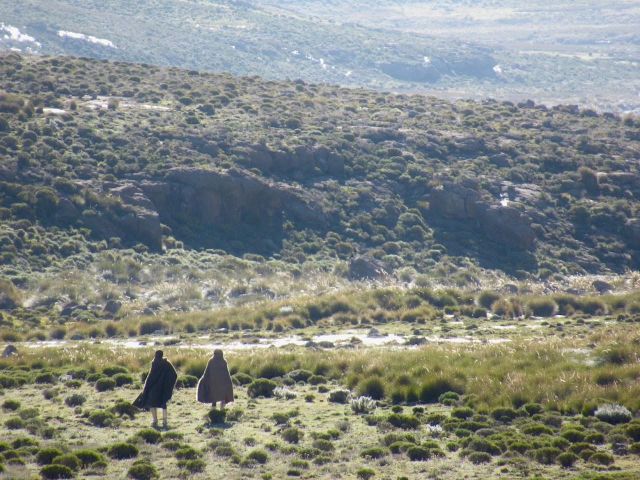 Lesotho Drakensberg Traverse shepherds Africa