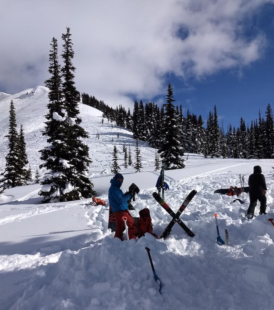 Whistler Adventure School avalanche safety training