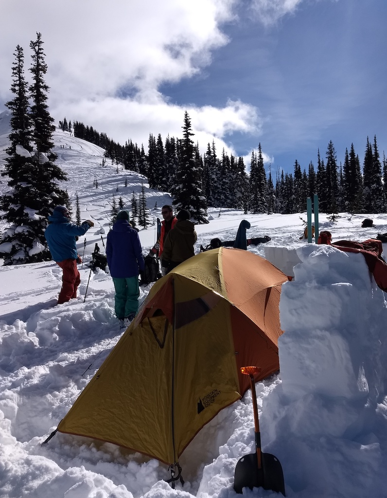 Whistler Adventure School avalanche safety training B.C. backcountry