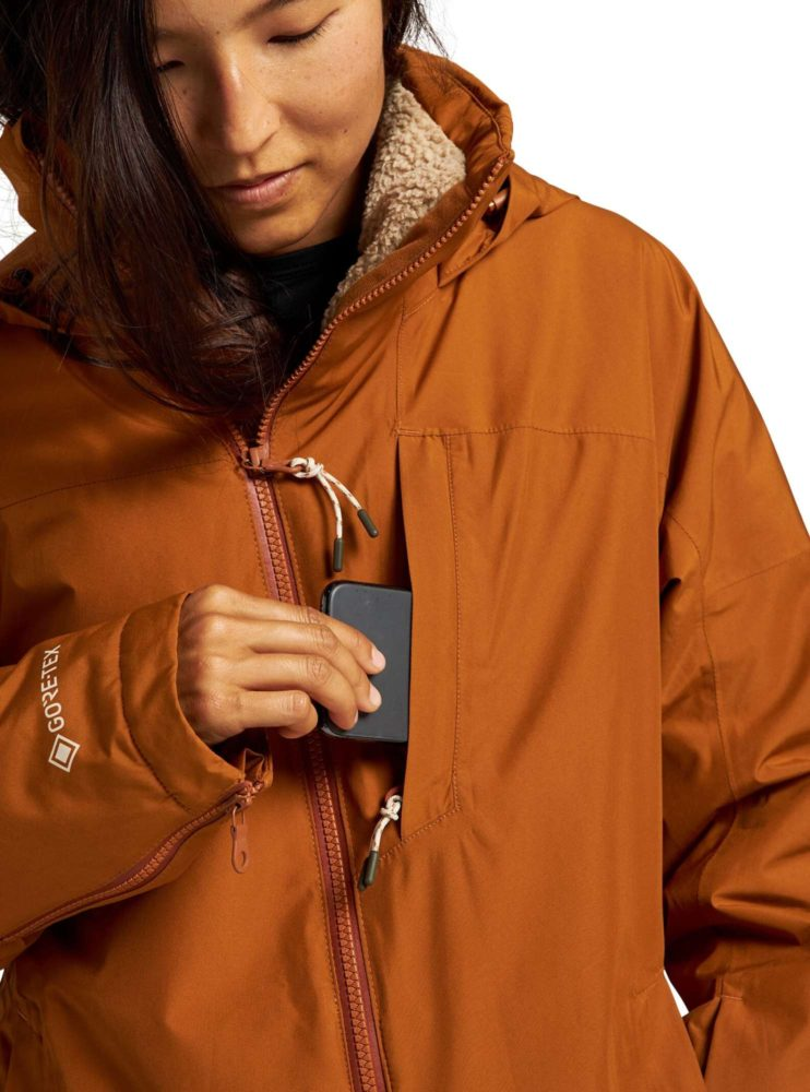 Not-Pink-Womens-Burton-Balsam-Jacket-phone-pocket