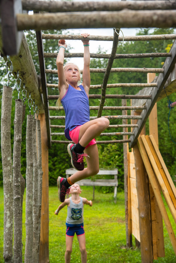 Raising-Girls-Who-Rip-Allison-Kennedy-Davies-monkey-bars-obstacle-course-outside