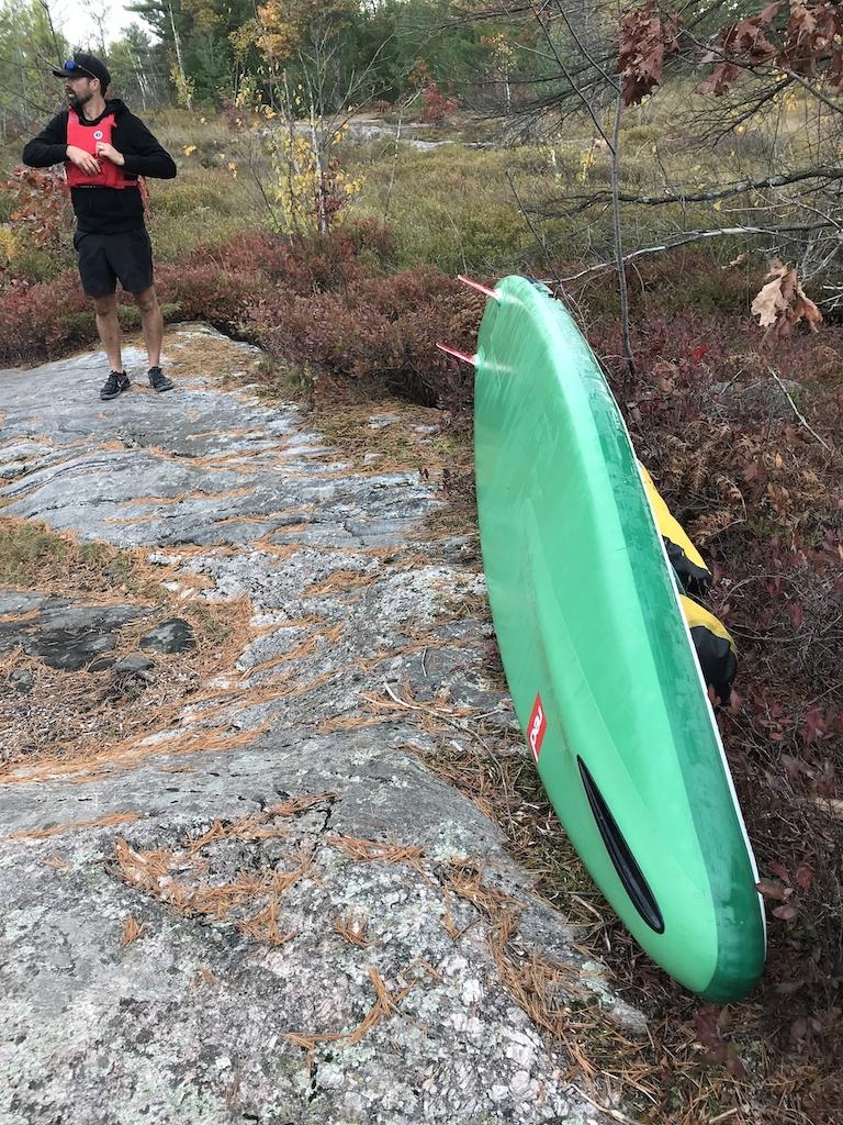 Red-Paddle-Co-New-2021-Paddleboards-portaging-TorranceBarrens
