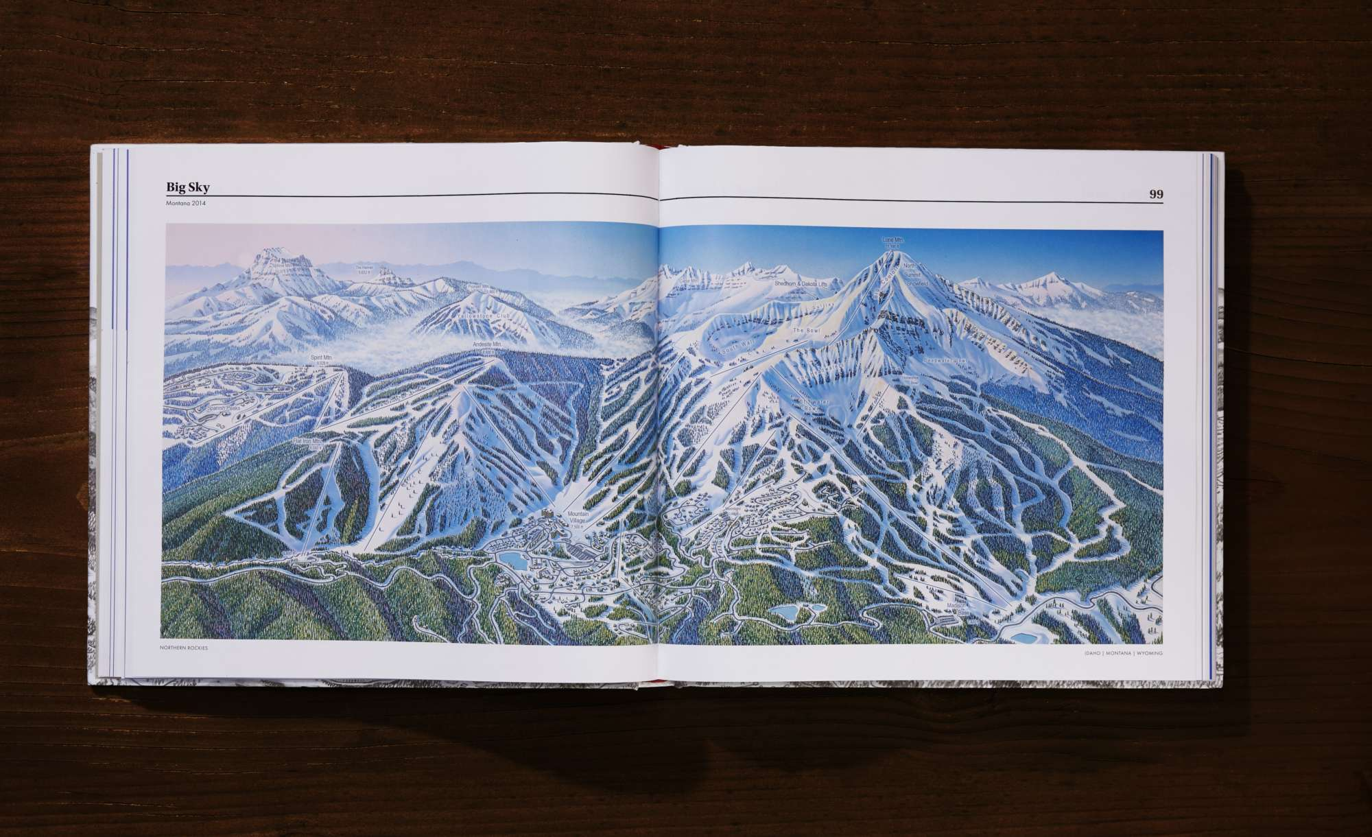 The-Rembrandt-of-Snow-Behind-Resort-Maps-James-Niehues-Big-Sky-Spread
