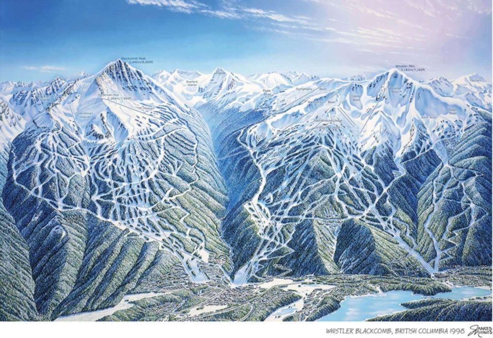 The-Rembrandt-of-Snow-Behind-Resort-Maps-James-Niehues-Whistler-Blackcomb-map