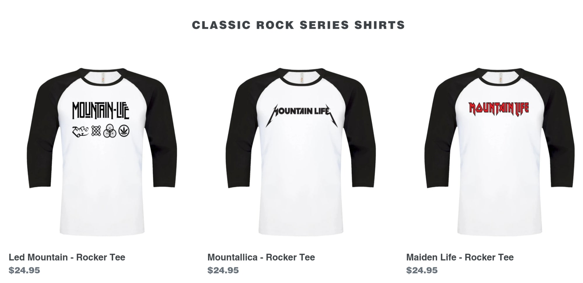 Cue-Flaming-Guitar-Solo-Mountain-Life-T-Shirts-Rock-Series