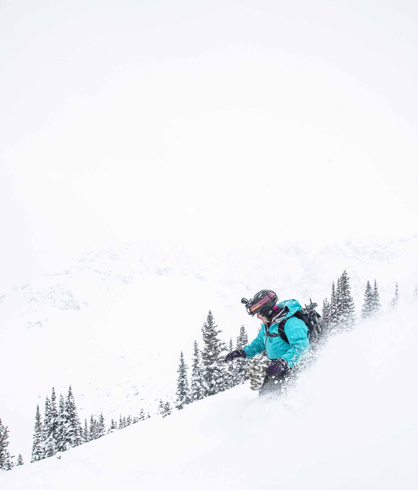 Into-the-Great-White-Open-Moms-Shred-Golden-BC-Kristin-Schnelten-Kicking-Horse-snowboarder