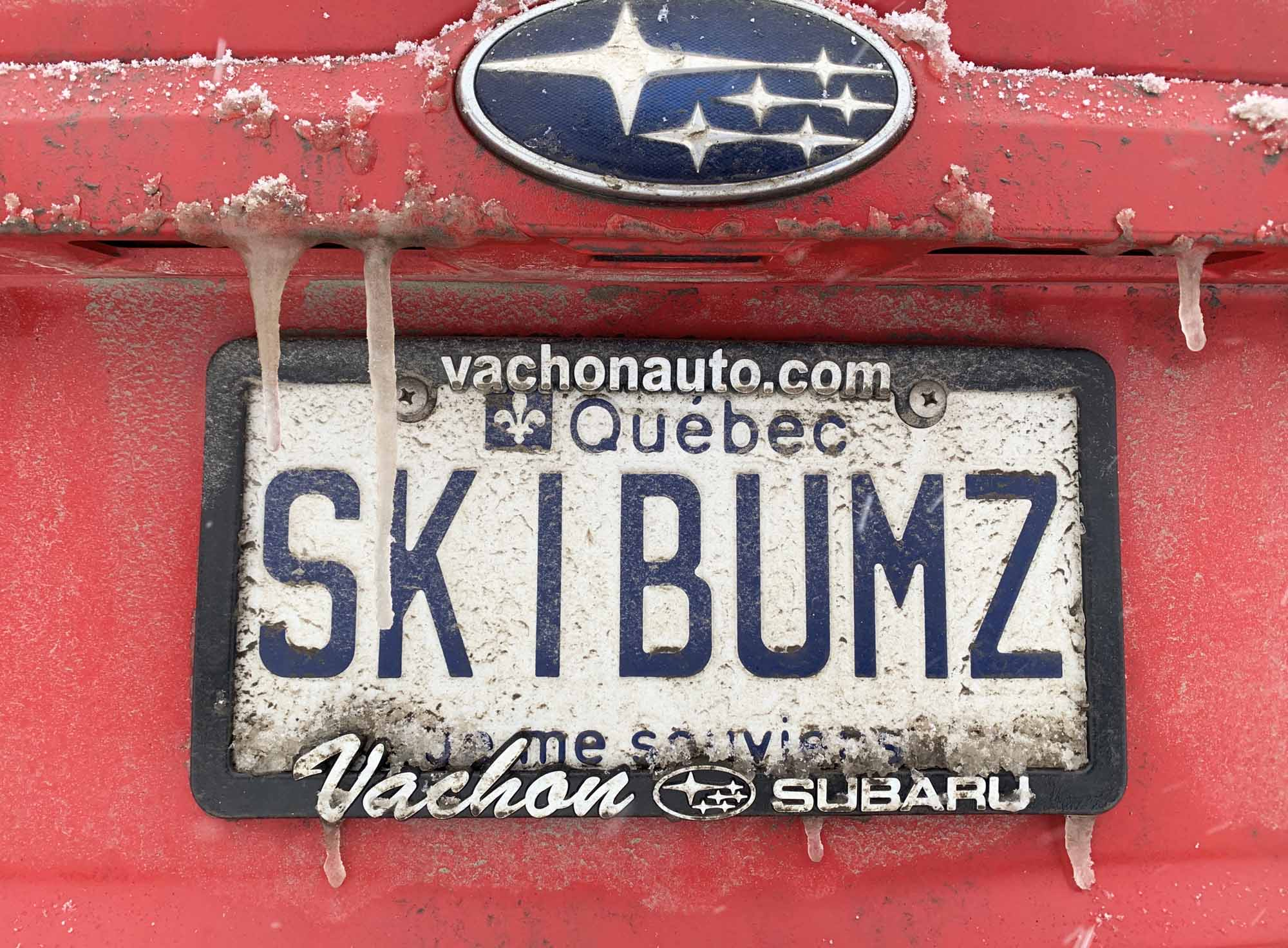 Pow-Immersion-Fathers-and-Sons-Quebec-Bro-down-Glen-Harris-license-plate