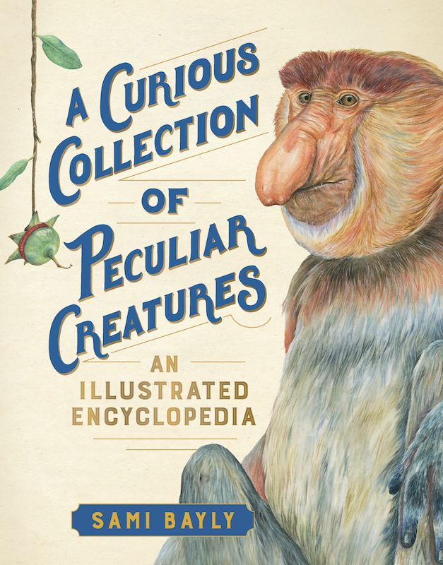 Curious Collection of Peculiar Creatures_cover