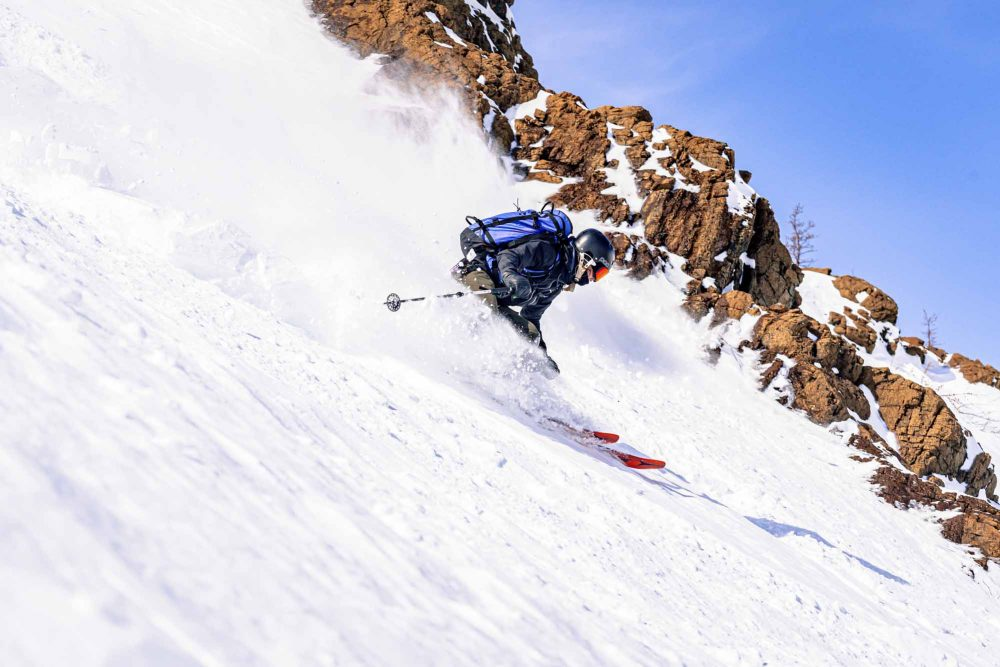 En-quete-de-poudreuse-In-Pursuit-of-Powder-Chic-Choc-skier-Florence-Mayrand-photo-by-FRANCOIS-HACHE