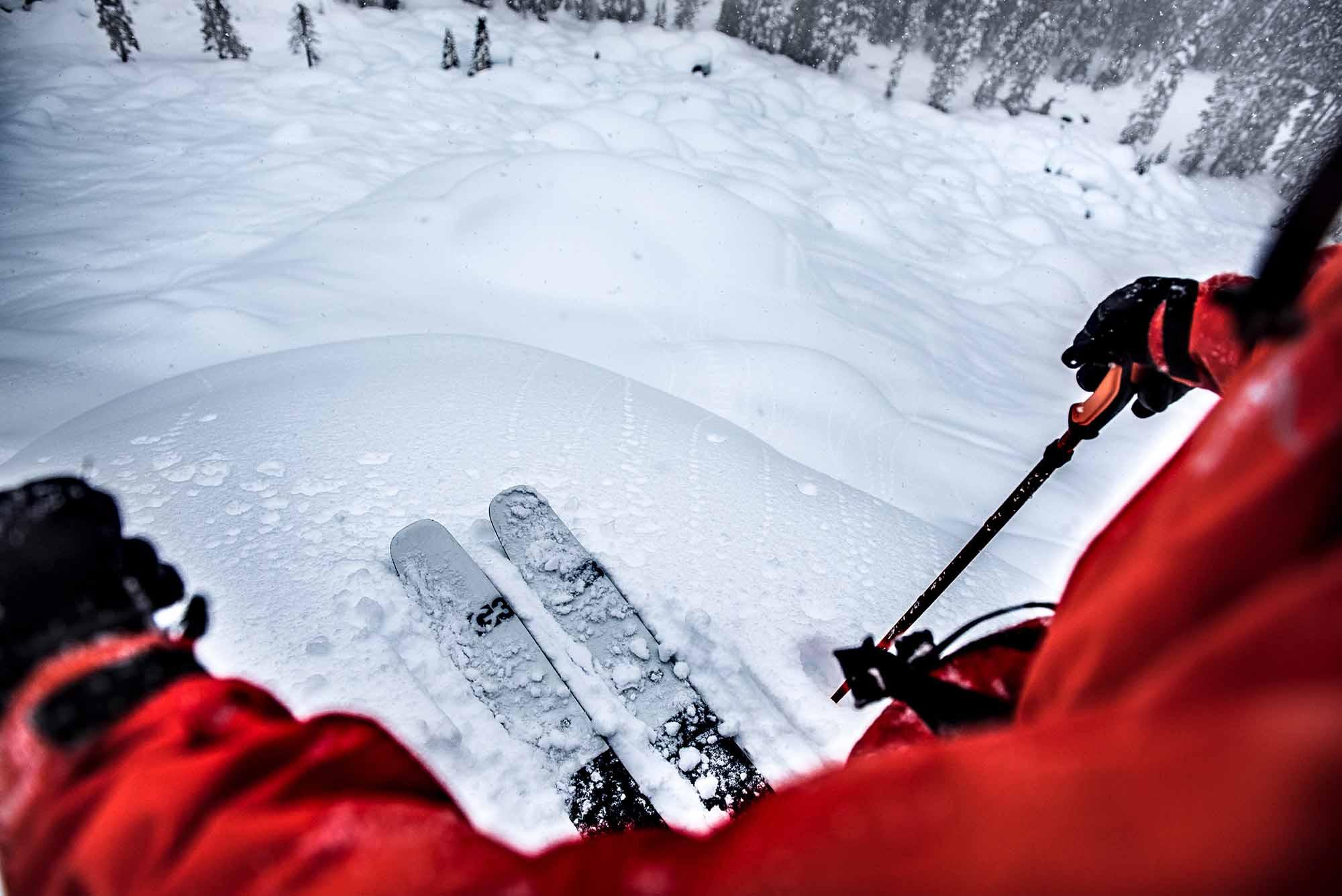 Skier: Matt Francisty. Location: Whistler backcountry, BC, Canada