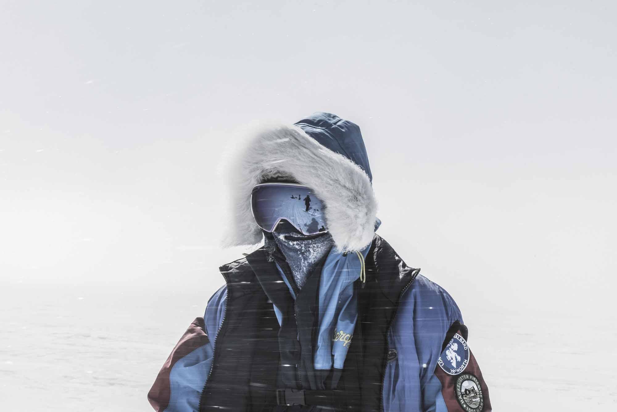 Polar-Quest-Exploration-Polaire-Exploring-Boundaries-in-Antarctica-Caroline-Cote-photo-blue-jacket-windy