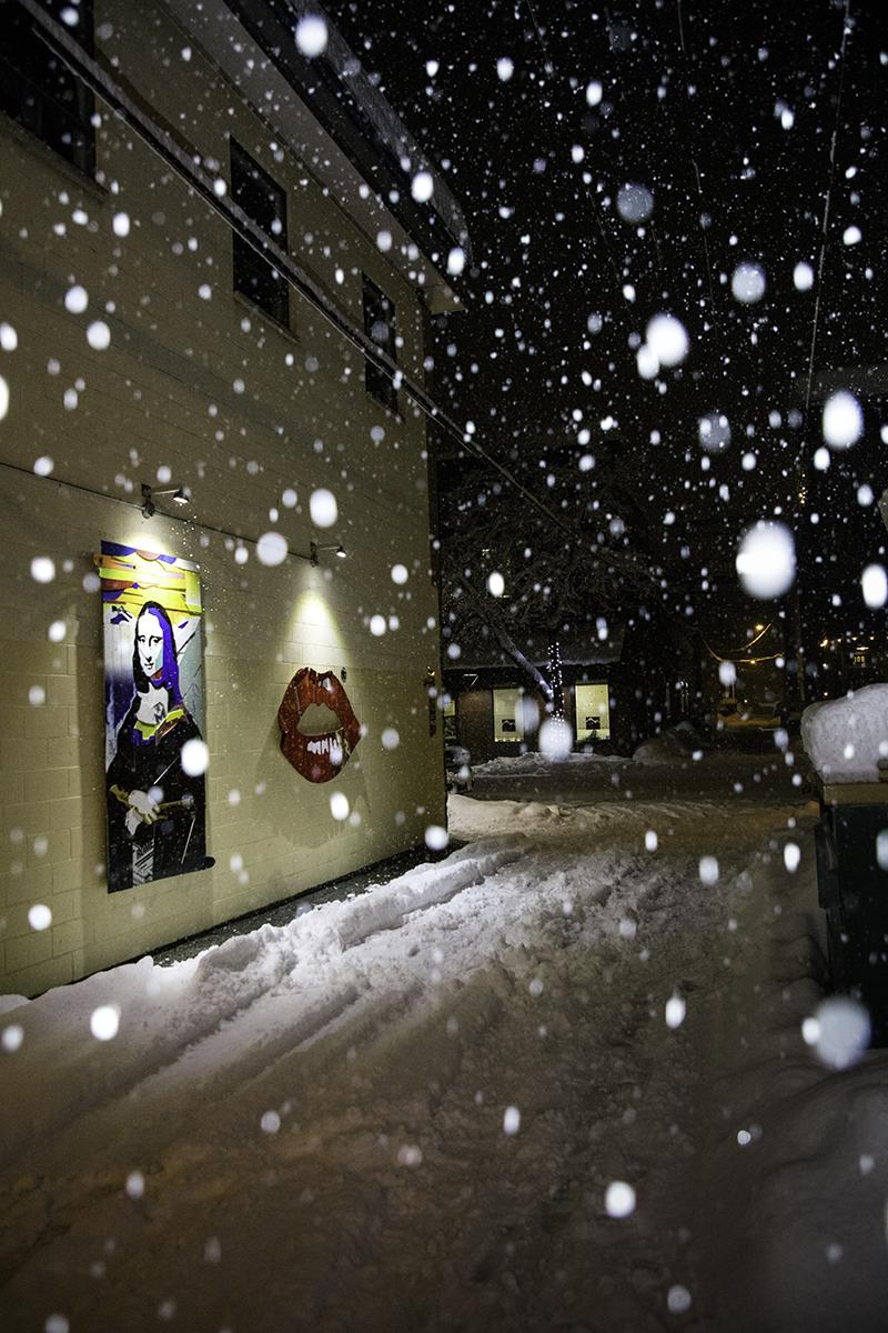 Revelstokes-Alley-Renaissance-Assemblage-art-alley-in-snow-Buchanan