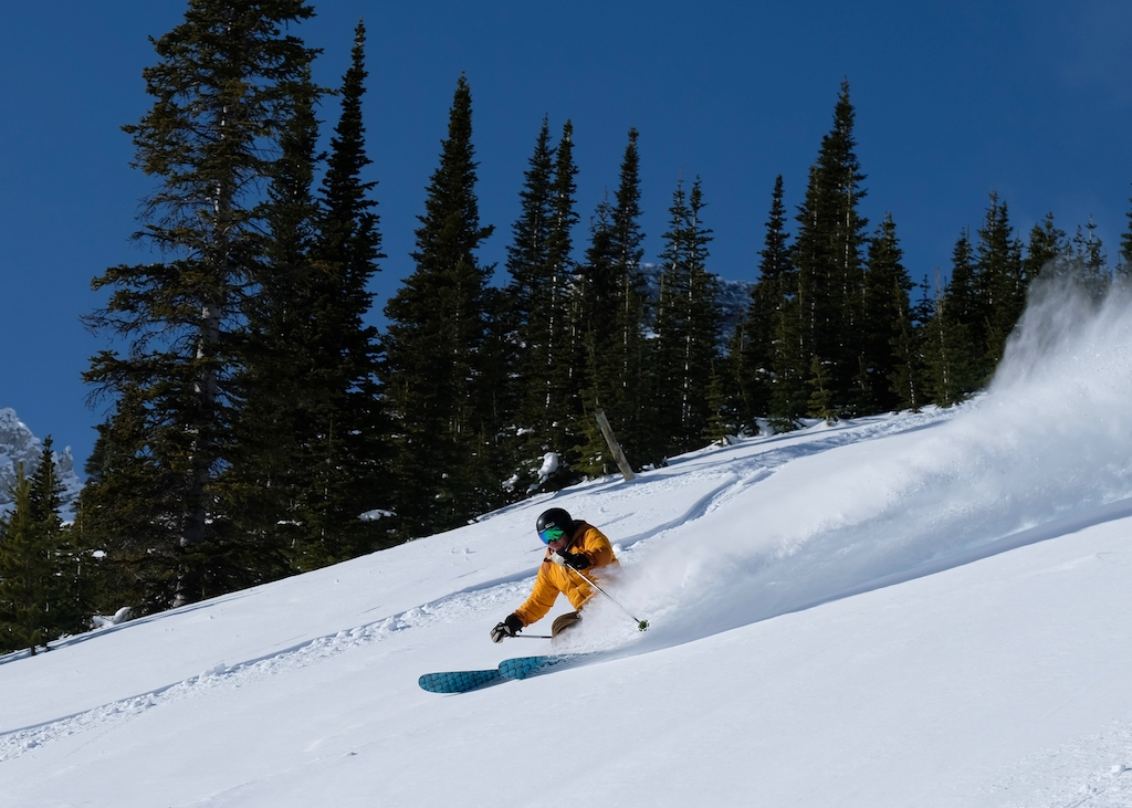 Kpow-and-the-Future-of-Fortress-Mountain-photo-by-Mike-Reece-skier-bluebird-day