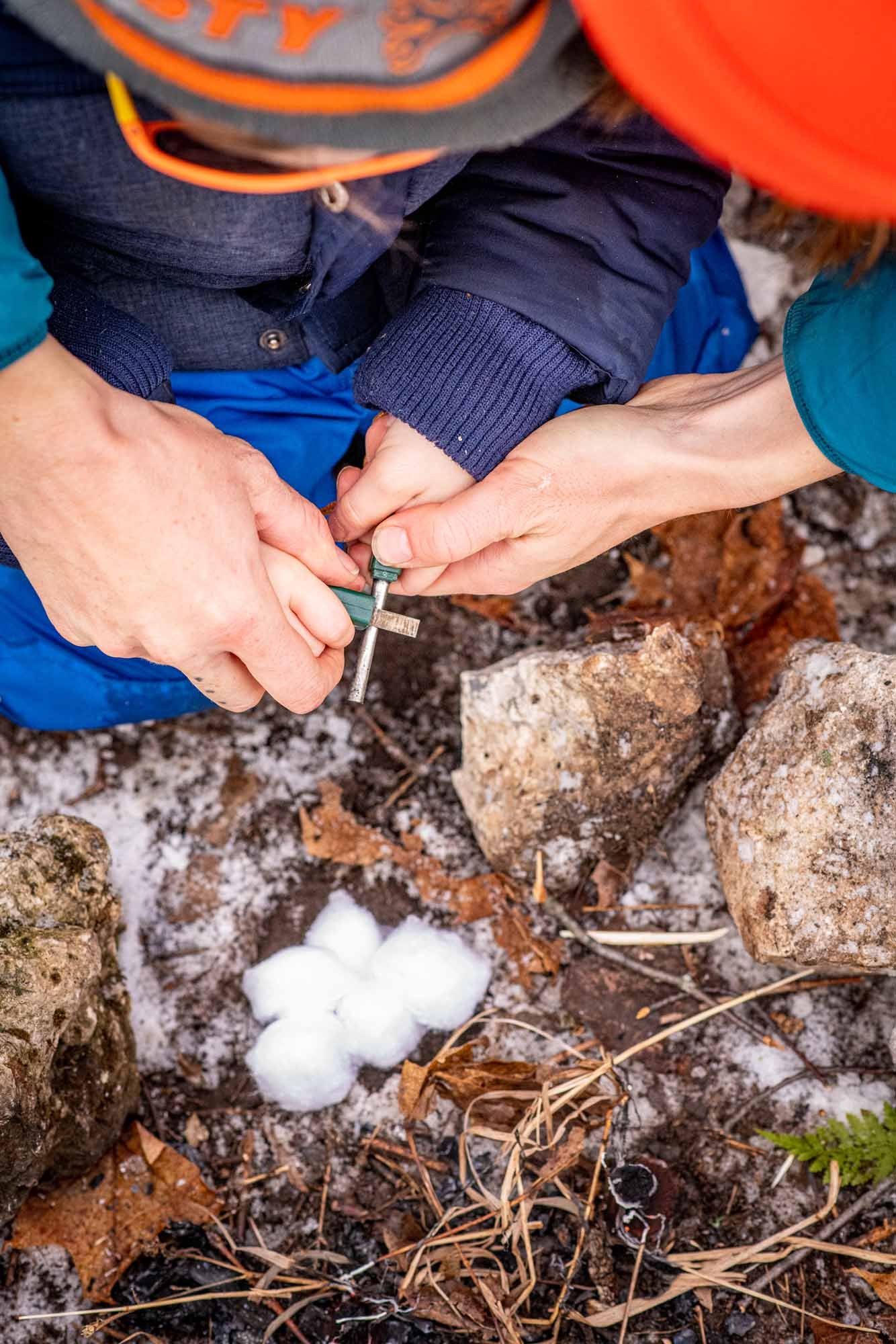 Nature-as-Teacher-Outdoor-Schools-Bring-Learning-Into-the-Elements-photo-by-Kristin-Schnelten-firestarting