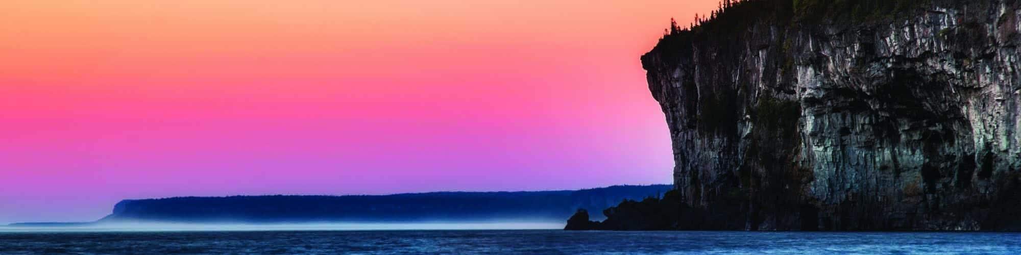 Blue Space pendemic Bruce Peninsula Zak Erb photo