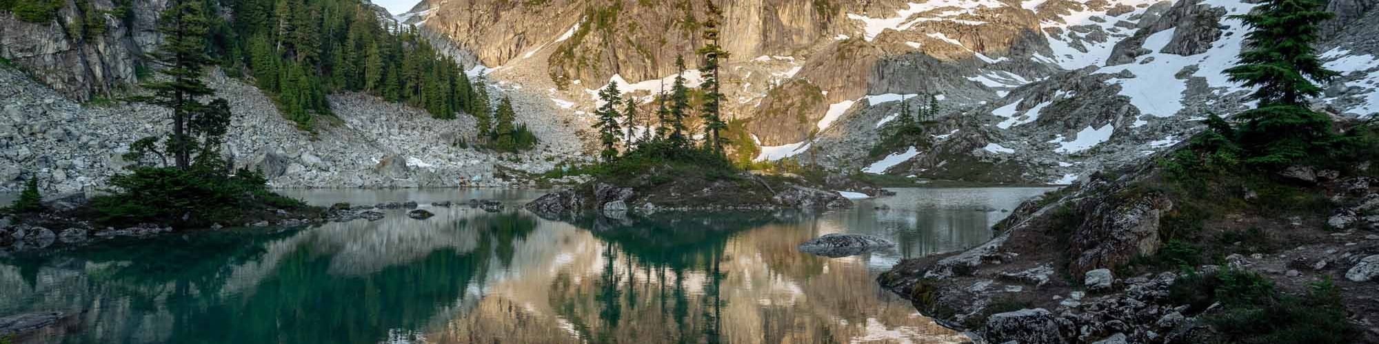 ML Coast Mountains Summer Fall Issue Out Now Watersprite Lake Anatole Tuzlak Photo